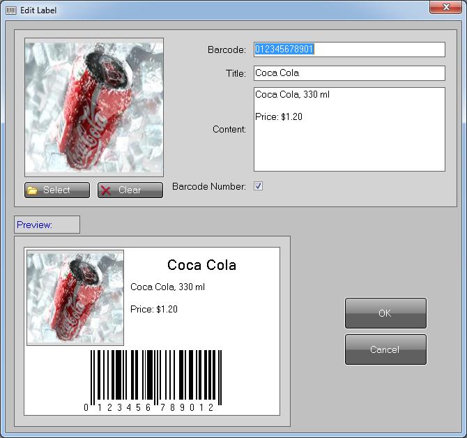 Barcode Generator, Barcode Software - EAN 8,EAN 13,Code 39,Code 128