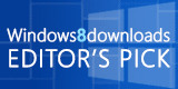 Windows 8 Editors Pick award